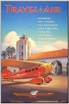 Art.com ''Western Air Express'' Wood Wall Art