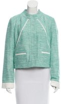 Magaschoni Striped Tweed Jacket w/ Tags