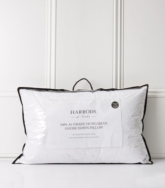 Harrods Hungarian Goose Down Housewife Pillow 48cm x 74cm
