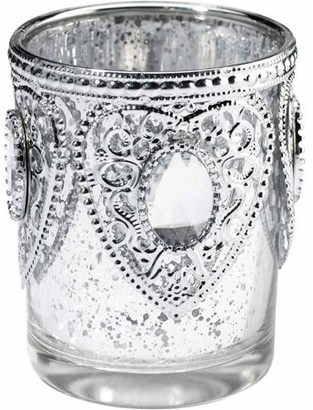 Lillian Rose Set of 3 Silver Tealight Cups
