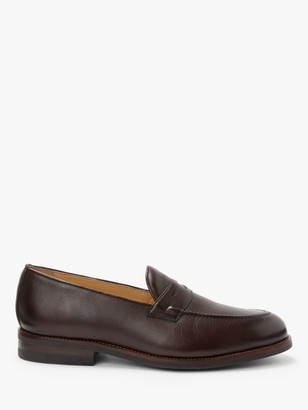 John Lewis & Partners Burlington Leather Penny Loafers