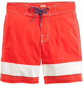 J.Crew Boys' board short in ocean stripe
