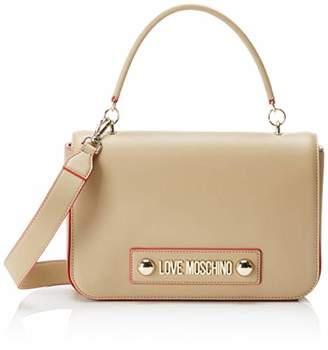 Love Moschino Borsa Soft Grain Pu, Women's Top-Handle Bag,6x19x28 cm (W x H L)