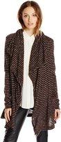 Mod-o-doc Women's Drape Front Long Cardigan Sweater