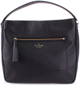 Kate Spade Black Michaela Chester Street Leather Hobo
