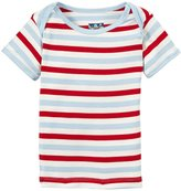 Kickee Pants Print Tee (Baby) - Balloon Stripe-NB
