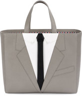 Thom Browne suit icon tote