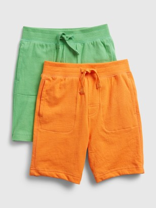 Gap Toddler Organic Cotton Pull-On Shorts (2-Pack)