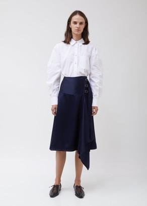 Sies Marjan Tamiko Twill Satin Skirt w/ Straps