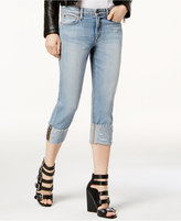 Joe's Jeans Frayed Cuffed Cropped Jeans