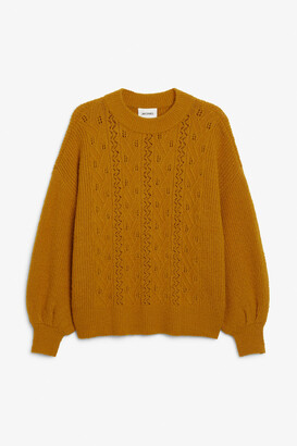 Monki Chunky knit sweater