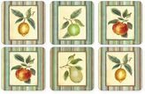 Pimpernel Couture Fruits Coasters (Set of 6)