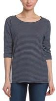 NYDJ Mediterranean Blocked Stripe Sweater.