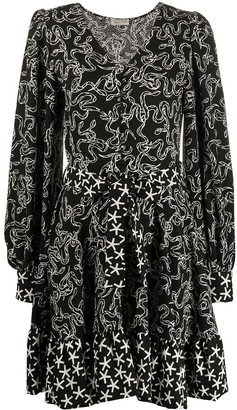 Stine Goya Farrow snake print dress