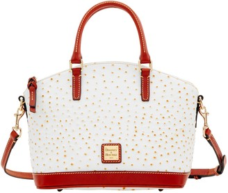 Dooney & Bourke Ostrich Toni Satchel