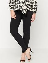 A Pea in the Pod Luxe Essentials Denim Maternity Jeggings- Black