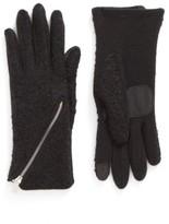 Echo Women's 'Touch - Zip Boucle' Tech Gloves
