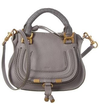 Chloé Marcie Mini Leather Satchel