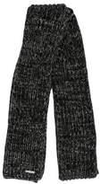 MICHAEL Michael Kors Patterned Rib Knit Scarf w/ Tags