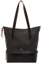 Lodis Kate Barbara Leather Commuter Tote