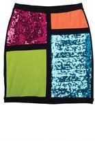 Delia's Sequin Colorblock Bodycon