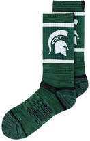Strideline Michigan State Spartans Crew Socks Ii