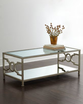 Horchow Candice Olson Hendrix Mirrored Coffee Table