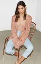 KENDALL + KYLIE Kendall & Kylie Chunky Cable Knit Cardigan
