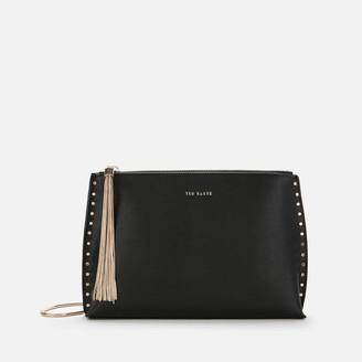 Ted Baker Women's Tesssa Chain Tassel Evening Bag - Black