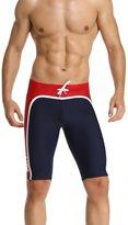 Baleaf Men's Solid Jammer Swim Suit Color Navy Red