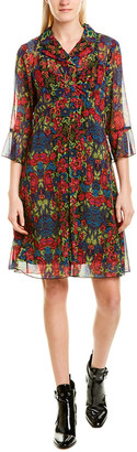 Anna Sui Kaleidoscope A-Line Dress