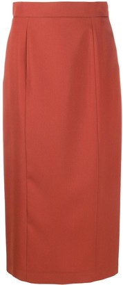 Rochas Panelled Pencil Skirt