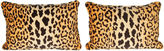 One Kings Lane Vintage Cheetah Pattern Print Pillows, Pair