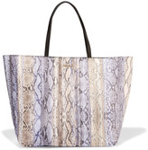 Just Cavalli Snake-print faux leather tote