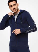 Michael Kors Logo Fleece Zip-Up Hoodie