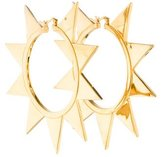 Eddie Borgo Spike Hoop Earrings