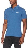 Superdry Men's Classic Fit Pique Polo Shirt,(Manufacturer Size: )