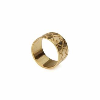Jewel Tree London Logo Ring