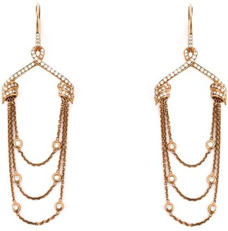 Stephen Webster Draped Diamond Earrings