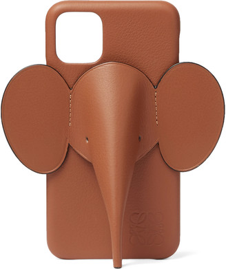 Loewe Elephant Full-Grain Leather Iphone 11 Case