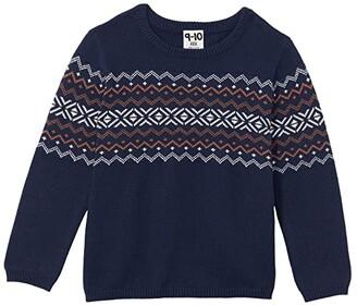 Cotton On Blake Knit (Toddler/Little Kids/Big Kids) (Navy/Nordic) Boy's Clothing