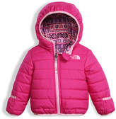 The North Face Reversible Perrito Quilted Jacket, Pink, Size 3-24 Months
