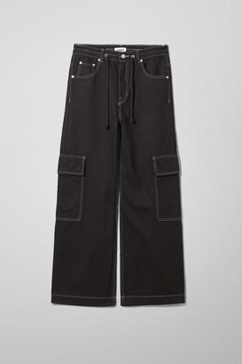Weekday Rink Black Jeans - Black