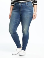 Old Navy Smooth & Slim High-Rise Plus-Size Skinny Rockstar Jeans