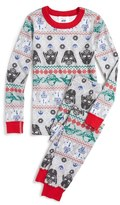 Hanna Andersson 'Star Wars TM Holiday' Organic Cotton Two-Piece Fitted Pajamas