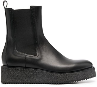 Del Carlo Chelsea ankle boots