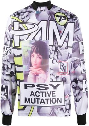 Perks And Mini Waterfalls Sublimation graphic-print sweatshirt