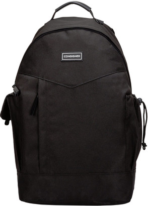 Ryker Pocket Detail Backpack Black