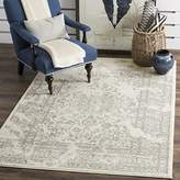 Safavieh Adirondack Collection ADR101B Ivory and Silver Oriental Vintage Area Rug (6' x 9')