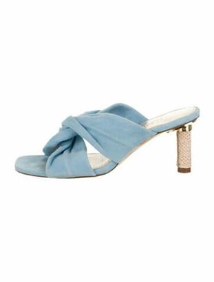 Jacquemus Les Mules Bellagio Sandals Blue